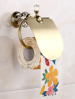 Facial Tissue Holders Modern Brass