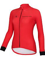 Camisa para Ciclismo Homens Manga Comprida Moto Respirável Secagem Rápida Blusas Terylene Moderno Primavera Verão OutonoIoga Boxe