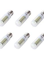 YouOKLight 6PCS E26/E27 4W 350LM AC/DC 12-24V 120xSMD3528 Cold White Light CRI80 LED Corn Bulbs Lamp