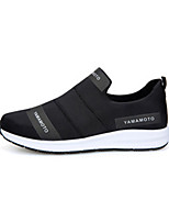 Men's Sneakers Spring Summer Fall Winter Comfort Tulle Fabric Casual Athletic Walking Flat Heel Black Blue