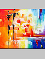 Hand Painted Modern Abstract Oil Painting On Canvas Wall Picture For Home Decoration Ready To Hang