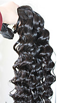 12-28 8A Grade Malaysian Virgin Hair Deep Wave Bundles 5pcs/250g Natural Black Virgin Hair Weave Bundles