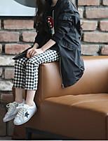 Girls' Casual/Daily Check Pants Summer Winter Fall