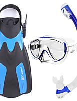 Набор для снорклинга Подводное плавание и снорклинг Стекло Резина силиконовый-WHALE