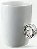 Оригинальные цветной Идти На открытом воздухе Стаканы, 400 ml Украшение Boyfriend Подарок Подруга Gift Керамика Телесный МолокоНеобычные