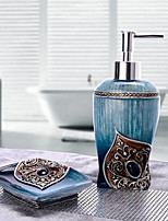Bathroom Accessory Set of 2 Objects Resin /Traditional