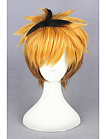 Short Stracight Color Mixed Tokyo Ghoul-Nagachika Hideyoshi Synthetic 12inch Anime Cosplay Wig CS-195F