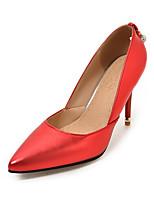 Da donna-Tacchi-Ufficio e lavoro Formale Casual-Comoda-A stiletto-Finta pelle-Oro Grigio Rosso Rosa