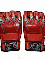 Боксерские перчатки для Бокс Полный палец Дышащий Износостойкий Защитный PU