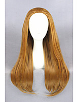 Long Straight Big Hero 6 Wig Honey lemon Brown 28inch Anime Cosplay WigCS-240A