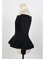 chaomei воротник слоеного юбка без бретелек рубашки воротник рубашки хлопка