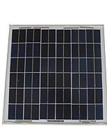 Chargeur de batterie au panneau solaire grun-20 pour extérieur 20w 17.5v