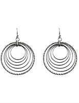 Drop Earrings Hoop Earrings Alloy Fashion Euramerican Circle Gold Silver Jewelry Wedding Party Halloween Daily Casual Sports 1 pair