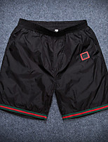 Sports Solid Boxers Underwear,Polyester