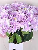 1 Филиал Волокно Гортензии Букеты на стол Искусственные Цветы 20*20*86