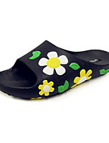 Women's Slippers & Flip-Flops Spring Summer Comfort Novelty Customized Materials Leatherette Office & Career Dress Casual Flat Heel Flower