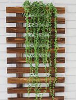 1 Ramo Plástico Plantas Guirlandas & Flor de Parede Flores artificiais 90