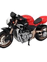 Motorcycle Toys Car Toys 1:18 ABS Plastic Rainbow