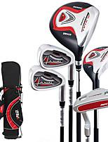 clubs de golf de golf fixe pour l'alliage inclus étui durable des garçons