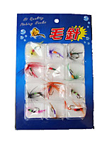 1 pcs Flies Random Colors g/Ounce mm inch,Plastic General Fishing