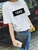 2017 versão coreana do verão do vento da faculdade do vento do BF do harajuku do vento solta a camisa digital short-sleeved do estudante