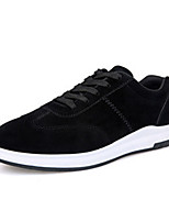 Men's Sneakers Spring Summer Fall Winter Comfort PU Tulle Athletic Casual Flat Heel Lace-up Walking