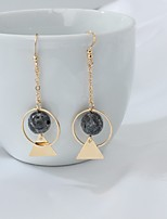 Drop Earrings Euramerican Fashion Alloy Geometric Jewelry For Party Daily 1 pair