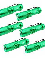 Beleuchtung LED Taschenlampen LED 1500 Lumen 3 Modus Cree XP-E R2 14500 einstellbarer FokusCamping / Wandern / Erkundungen Für den