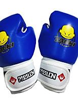 Боксерские перчатки для Бокс Рукавицы Защитный PU Оранжевый Красный Зеленый Синий