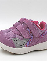 Girls' Sneakers Spring Fall Comfort Canvas Outdoor Casual Flat Heel Bowknot Hook & Loop Walking