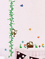 Cartoon Wall Stickers Plane Wall Stickers Height Stickers,Vinyl Material Home Decoration Wall Decal