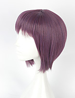 Cosplay Wigs Cosplay Cosplay Purple Short Anime Cosplay Wigs 40 CM Heat Resistant Fiber