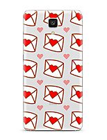 For  Xiaomi  Mi 4  Mi 5Transparent Pattern Case Back Cover Case Heart Soft TPU for  Mi 5s Plus  Mi 5s Mi 4s Mi 3