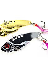 2 pcs Hard Bait Random Colors 12 g Ounce mm inch,Metal General Fishing