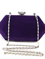 L.WEST Woman fashion diamond velvet evening bag