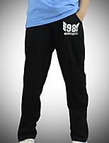 Pantalons Garçon Décontracté / Quotidien Couleur Pleine Coton Hiver Printemps Automne