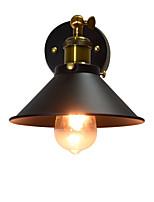 Ac220v-240v 4w e27 привело света краской одной стене стены стены лампы немой черный Лампа лампы на стене