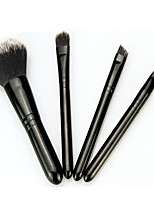 4 Makeup Brush Set Blush Brush Eyeshadow Brush Lip Brush Concealer Brush Powder Brush Synthetic HairProfessional Travel Full Coverage