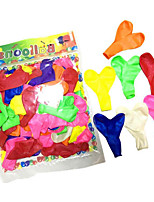 Mixed Color 100 Balloons Holiday Supplies Heart-Shaped 8 to 13 Years 14 Years & Up