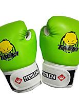 Боксерские перчатки Тренировочные боксерские перчатки для Бокс Полный палец Защитный PU Губка Оранжевый Красный Зеленый Синий