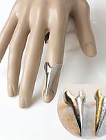 Bagues Ongle doigt Original Alliage Forme Pointue Or Argent Bijoux Pour Occasion spéciale Halloween Quotidien Décontracté 1pc