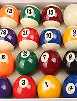 Billiard Balls English Billiards Case Included Waterproof Resin
