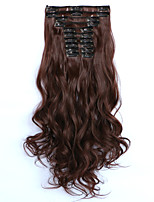 A Clipser Synthétique Extensions de cheveux 150 Extension des cheveux