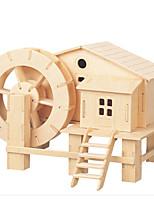 Пазлы Набор для творчества 3D пазлы Пазлы Пазлы и логические игры Строительные блоки Игрушки своими руками Квадратная Мебель Игрушки 1