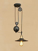 Pendant Light   Retro Country Painting Feature for Edison Bulb Mini Style Designers Metal Bedroom Dining Room Study Room/Office Hallway