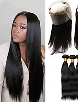 One Pack Solution Peruvian Texture Straight 12 Months 4 Pieces hair weaves