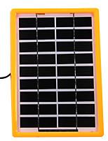Chargeur de batterie au panneau solaire xh-s225155 pour extérieur 3w 9v
