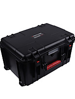 61 L Waterproof Dust Proof Wearable Hardshell Multifunctional Shockproof Black