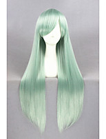 Long Straight The Seven Deadly Sins Elisabeth Wig Green Synthetic 32inch Anime Cosplay Wig CS-244A