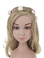 Kid's Cute Baby Leaves  Rose Handmake Flowers Fashion Headbands